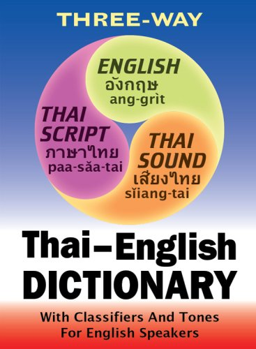 English-Thai Thai-English Dictionary Great For Starting Out